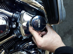 Couvercles Yamaha Road Star (cover cam / cover generator) 30$/ch