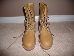 Men's Steel Toed Boots, Size 8