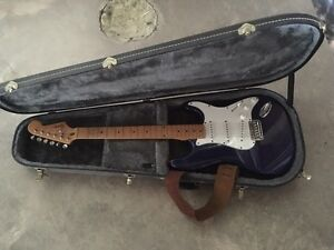 Fender squier w/ mexican pickup and japan neck