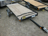 Karavan Tilt-Bed Snow Trailer - New