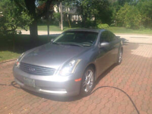 2005 Infiniti G35 Coupe (Rare Factory Aero and Rim Package)