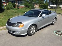 2003 Hyundai Tiburon 4 cylinder good on gas