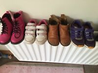 Selection of girls shoes.... Size 9