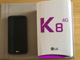 LG K8 on EE
