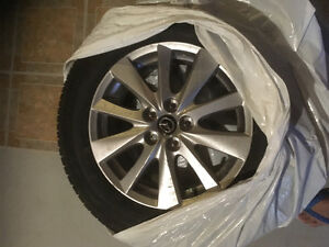 2016 Mazda CX-5 SUV tires and rims 4 pcs