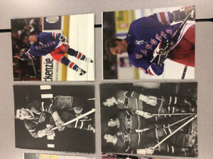 NHL Legends 8 x 10 nice seven dollars each see pics