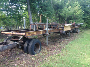 PTO powered Saw mill and plane
