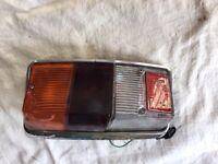 Classic mini rear lamp with reverse lens L/H