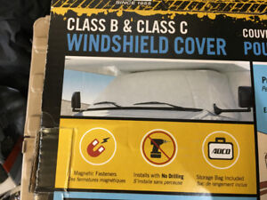 Chevy RV windshield cover New