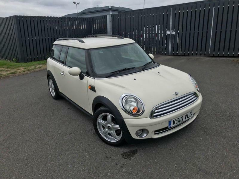 Mini Clubman Cooper White Manual Petrol 2010 For Sale
