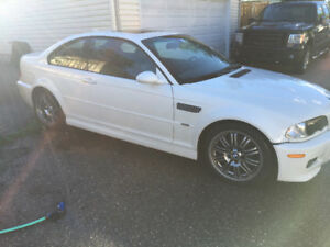 2004 BMW M3 White Coupe (2 door)