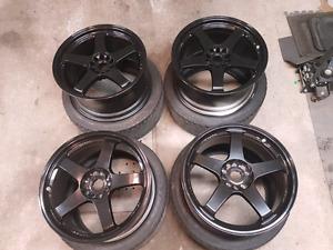 Nismo Rays wheels LMGT4