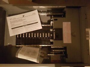 Panneaux électrique square D 100Amp dans sa boîte