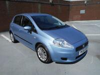 (55) 2006 Fiat Grande Punto 1.4 Dynamic Low Tax 5 Door 1 Years Mot