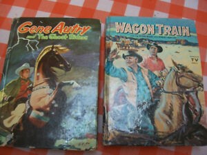 2 books of gene autry very old bools in fantastic condition grea