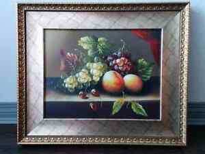 Oil Painting With a beautiful Frame