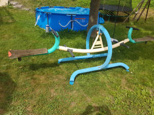 REDUCED!   TEETER TOTTER ( SEESAW ) FOR SALE