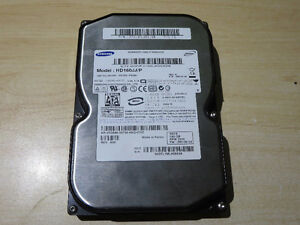 SAMSUNG SPINPOINT - 160 GB - 3.5 - SATA-300 - 7200RPM HARD DRIVE