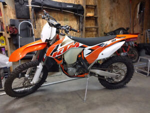 KTM 450 XC-F with Rekluse Auto Clutch and Fan Kit and more