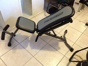 Banc D'excercise ** Fitness Club ** Work Out Bench