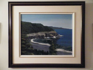 Original Painting of Middle Cove Beach