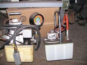 pompe(s) hydraulique