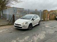 2012 Fiat Punto GBT 1.4L 8V 3dr Petrol Manual 60k Miles White CATN