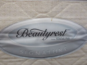 Simmons Beautyrest King size mattress and box $ 399.00 + Tax.