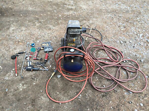 CH 8 Gallon air Compressor with alot of extras works great