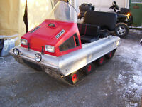 Old Snowmobiles