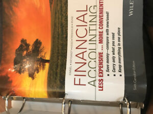 Financial Accounting textbook Brock paperback