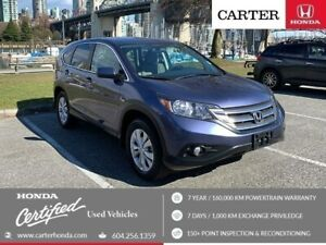 2014 Honda CR-V EX AWD + SPRING CLEARANCE + CERTIFIED!