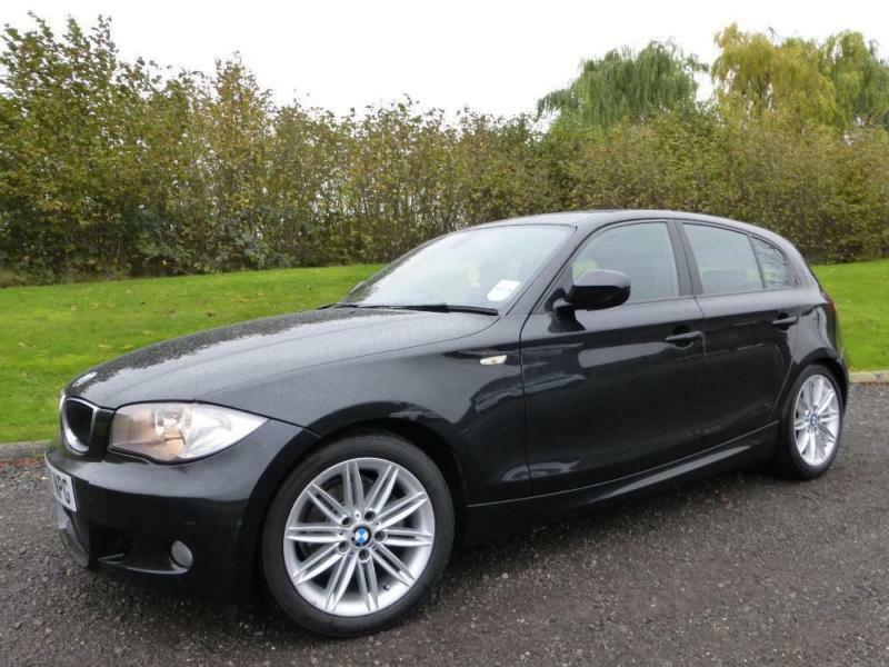 bmw 1 series 118d m sport 2010 diesel manual in black in. Black Bedroom Furniture Sets. Home Design Ideas