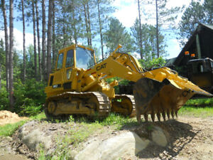bulldozer caterpillar 963 chargeur 1988