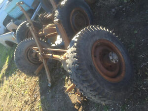 1968 GMC factory 4x4 differentials with manual hubs