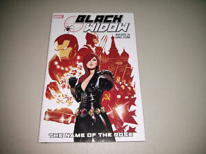"Marvel's Black Widow TPB ""The Name of the Rose"" $10"