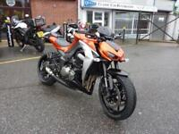 Kawasaki Z1000 ABS 15/15reg lots of extras FSH Mint