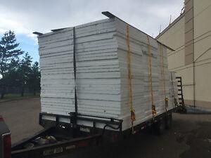 """2.5"""" styrofoam insulation 4x8 sheets"""