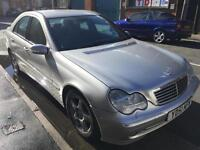 2002 MERCEDES C200K AVANTGARDE AUTOMATIC >PRICED TO CLEAR< MOT..GOOD CONDITION