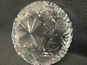Collectible Antique Crystal Candy Dish London Ontario image 4