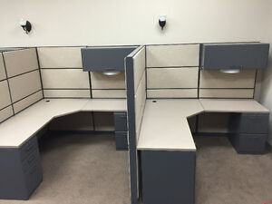 Refurbished Office Cubicles Like New Condition Any Size & Colour Windsor Region Ontario image 10