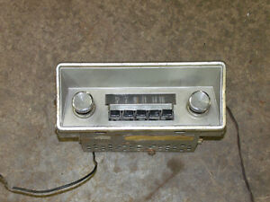 50's 60's Mopar  AM radio