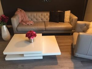 Leather Sofa and Chair for sale London Ontario image 2