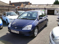 Honda Civic 1.6i VTEC SE 5 door