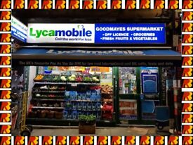 GOODMAYES SUPERMARKET IN ILFORD , REF: RB225