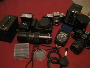 Cameras, old and newer