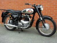 BSA A10 Gold Flash 1960 650cc