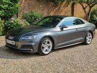 2018 Audi A5 Coupe 1.4 TFSI S Line 2dr S Tronic, Auto Petrol, Only 23000 miles