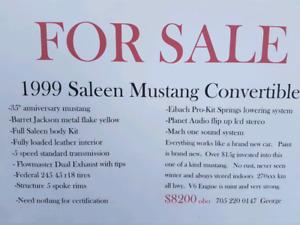 99 mustang convertible
