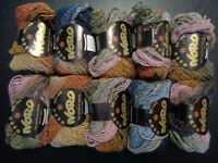 Crazy Yarn De-Stash!!!  Part 18:  Noro Kureyon/Silk Garden etc